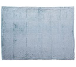 Plaid 140x200 ICE Bleu