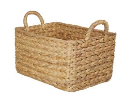 JACINTHE Panier rectangle GM Naturel