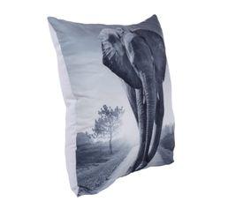 Coussin 45x45 cm ELEPHANT Gris
