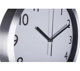Horloge sur pied H.145 cm  Argent
