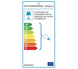 Lampe de chevet PICOLA 3 Bleu