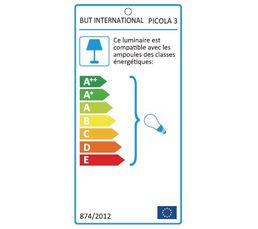 Lampe de chevet PICOLA 3 Noir