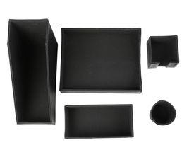 set de bureau edouard noir accessoires bureau but. Black Bedroom Furniture Sets. Home Design Ideas