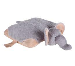 ELEPHANT Peluche gris clair