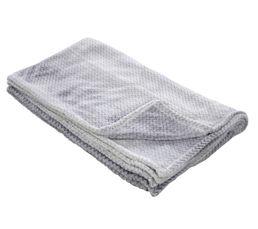 MILANO Plaid 130x160 cm gris
