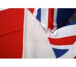 Housse de couette 240x220 + 2 UK FLAG imprimé