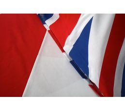 Housse de couette 140x200 + 1 UK FLAG imprimé