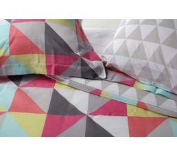 Housse de couette 240x220 + 2 PRISME Multicolor
