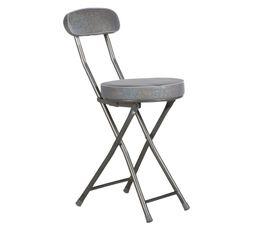 Chaise pliante SHINY Silver