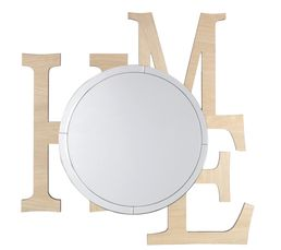 Miroir 80x80 cm HOME Naturel