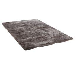 SILKY Tapis 120x170 cm gris
