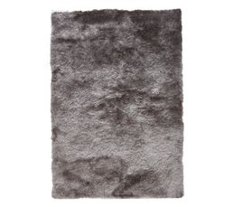 tapis 160x230 cm silky gris tapis but. Black Bedroom Furniture Sets. Home Design Ideas