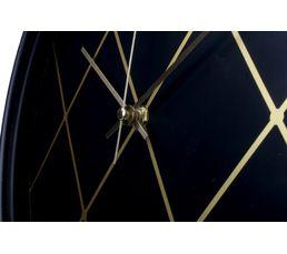 Horloge D.30 cm MILANO Noir