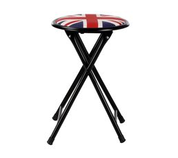 tabouret pliant flag bleu rouge tabourets but. Black Bedroom Furniture Sets. Home Design Ideas