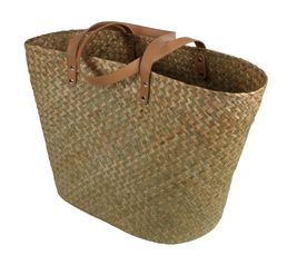 BAHIA Panier shopping Naturel