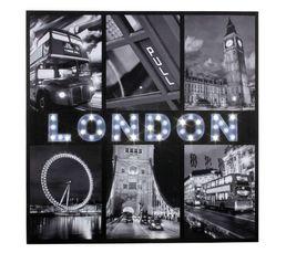 Canvas led London Imprimé