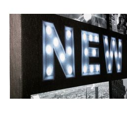 Canvas led New York toile led Imprimé