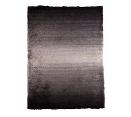 Tapis 120x170 cm MOON Noir / Gris