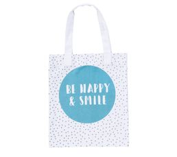 SEATTLE Tote bag 35x59 cm Bleu / Gris / Blanc