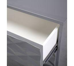 Buffet 2 portes/3 tiroirs MILANO Gris
