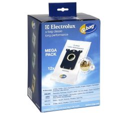 ELECTROLUX Sac aspirateur S-Bag E201M x12 long. Perf.