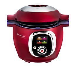 multicuiseur intelligent moulinex cookeo ce701500 rouge friteuse cuiseur mijoteur but. Black Bedroom Furniture Sets. Home Design Ideas