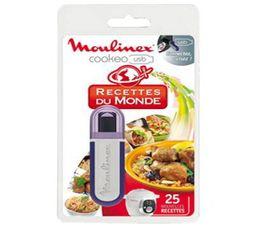 Accessoires Préparation Culinaire - Clé USB Cookeo MOULINEX Recettes du Monde XA600111