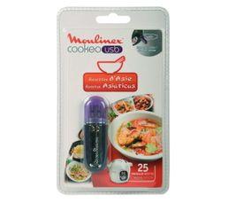 Accessoires Préparation Culinaire - Clé USB Cookeo MOULINEX Recettes Asie XA600311