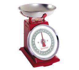 TERRAILLON Balance de cuisine Tradition 500 Rouge