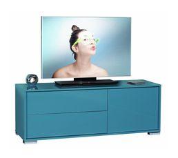 Meubles Tv - MEUBLE Tv NOVA 14SH3312 turquoise brillant