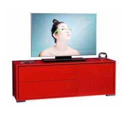 Meubles Tv - MEUBLE Tv NOVA 14SH3312 rouge brillant