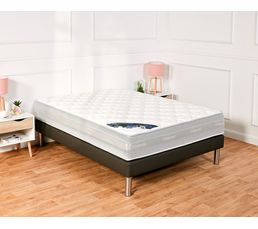 But - Sommier anthracite 140x190 cm simmons pu