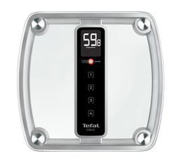 Pèse-personne - Pèse personne électronique TEFAL PP5150V0 ''Evolis Glass 3''