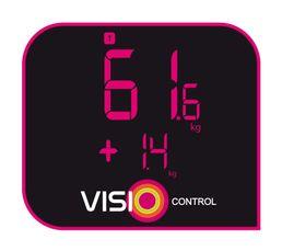 Pèse personne électronique TEFAL PP5150V0 ''Evolis Glass 3''