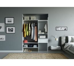 kit dressing extensible breda blanc dressings but. Black Bedroom Furniture Sets. Home Design Ideas