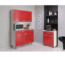 Buffets Et Dessertes - Desserte PIXEL 803293 - Rouge brillant