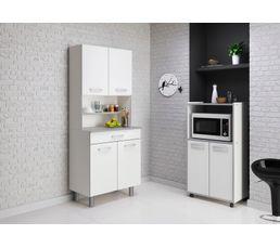 buffet pixel 3368 blanc buffets et dessertes but. Black Bedroom Furniture Sets. Home Design Ideas