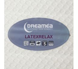 Matelas 2x80x200 DREAMEA LATEXRELAX