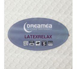 Matelas 2x90x200 DREAMEA LATEXRELAX