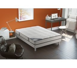 ensemble matelas sommier pas cher. Black Bedroom Furniture Sets. Home Design Ideas