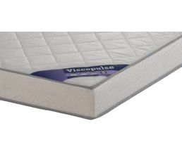 Matelas 140 x 190 cm DREAMEA VISCOPULSE