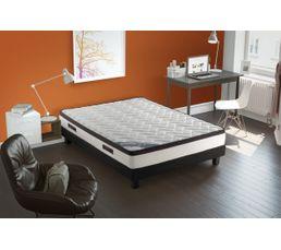 matelas 160x200 cm ressorts ensach s m moire de forme. Black Bedroom Furniture Sets. Home Design Ideas