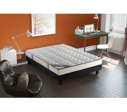 sommier d co noir vestan 160x200 cm sommiers but. Black Bedroom Furniture Sets. Home Design Ideas