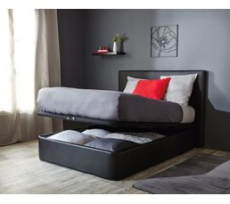 sommier coffre 140 x 190 cm dreamea extra sommiers but. Black Bedroom Furniture Sets. Home Design Ideas