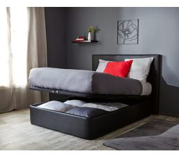 sommier coffre 160 x 200 cm dreamea extra sommiers but. Black Bedroom Furniture Sets. Home Design Ideas
