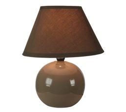 Lampe de chevet LOU Taupe