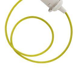 Cordon électrique E27 60W Vert