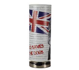 Lampe à poser LONDON DOG Imprimé