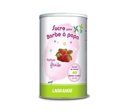 Sucre � barbe � papa LAGRANGE 380002 Fraise