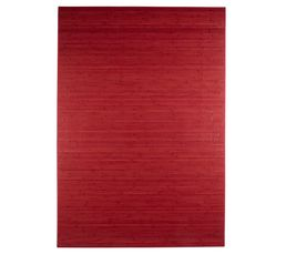 tapis 160x230 cm tropique rouge tapis but. Black Bedroom Furniture Sets. Home Design Ideas